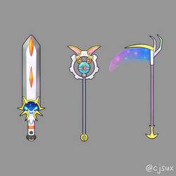 solgaleo sword magearna staff or lunala scythe?