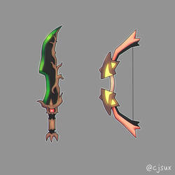 trevenant sword or gourgeist bow? by CJsux