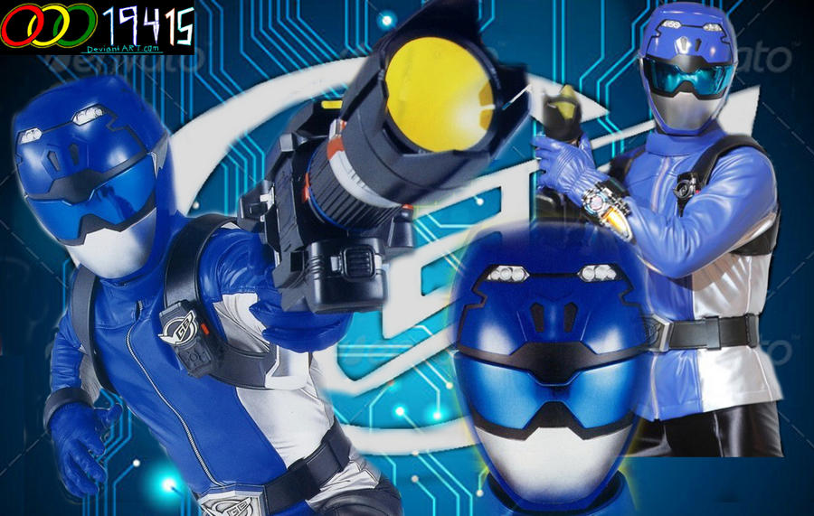 Tokumei Sentai Go-Busters: Blue Buster by OOO19415 on ...