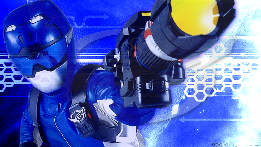 Tokumei Sentai Go-Busters: Blue Buster REVAMPED by ...