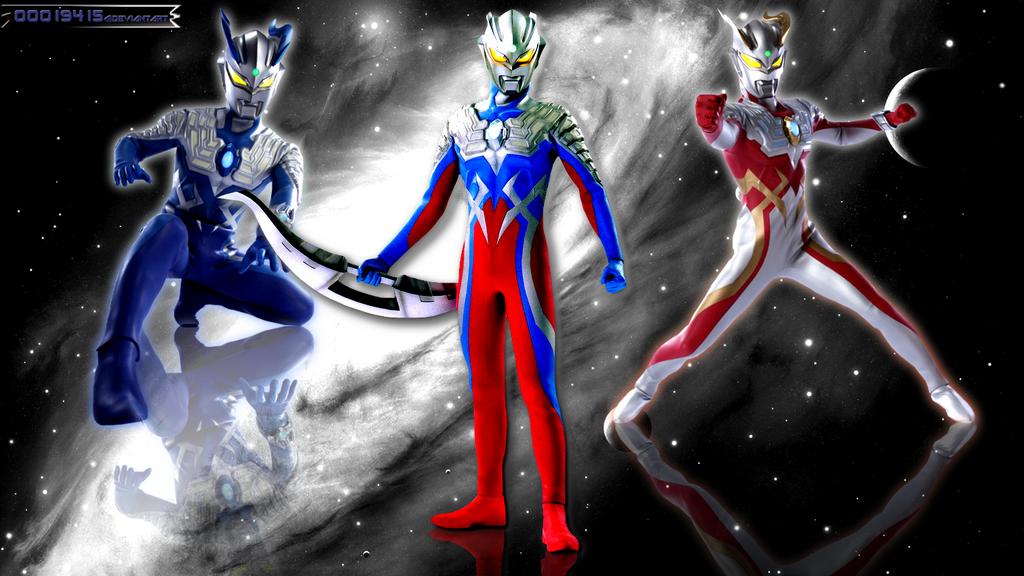 Ultraman Zero by OOO19415 on DeviantArt