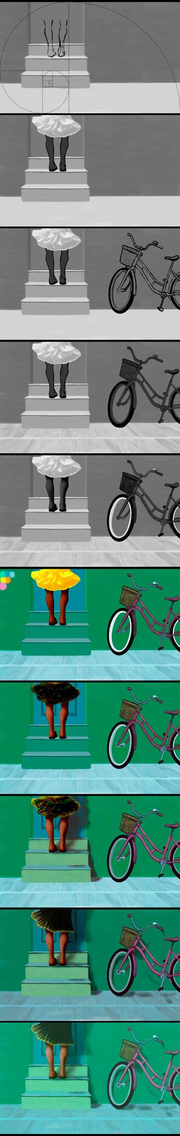 Three Steps W.I.P. by CamposDO