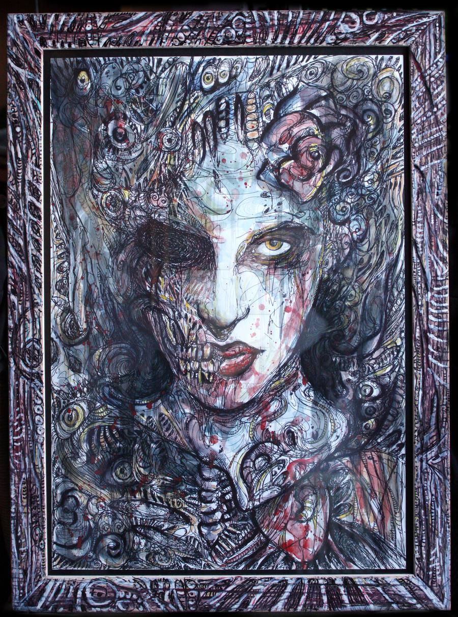 Zombie frame by ElenaFortuna