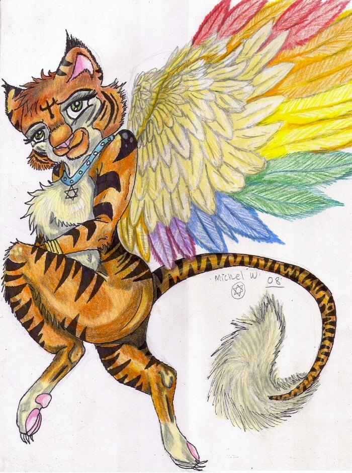 TigraAngel Gift by MWRoach