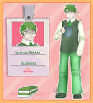 Sweet Factory: Norman by FeatheryJustice