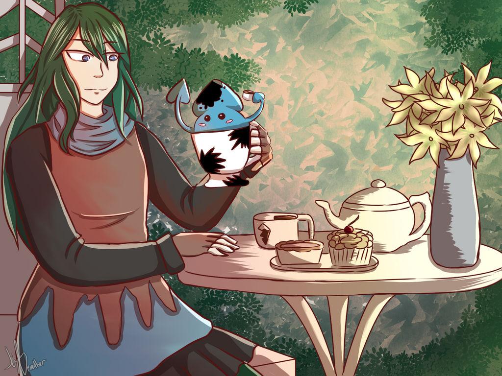 A cup of squid tea [Teasday]