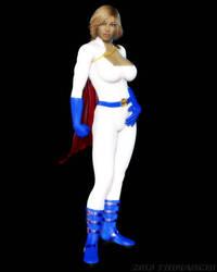Power Girl Fanart by artguyjoe