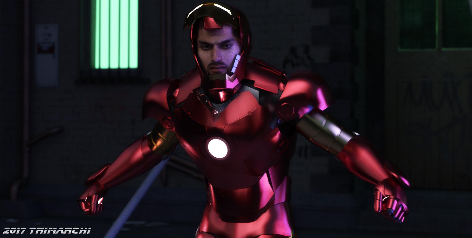 ''I am Iron Man'' by artguyjoe