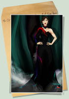 Miss OC R1 - Gwen Russo: Respect the Dress by persekore