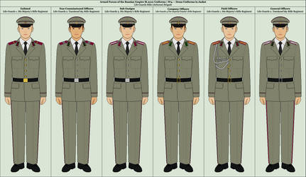 No.4. Summer Dress Uniforms in Jacket by TheFalconette