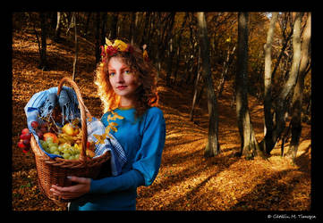 Harvest Lady 1 by CatalinMT