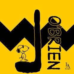 L O'Brien Logo - Charlie Brown Style