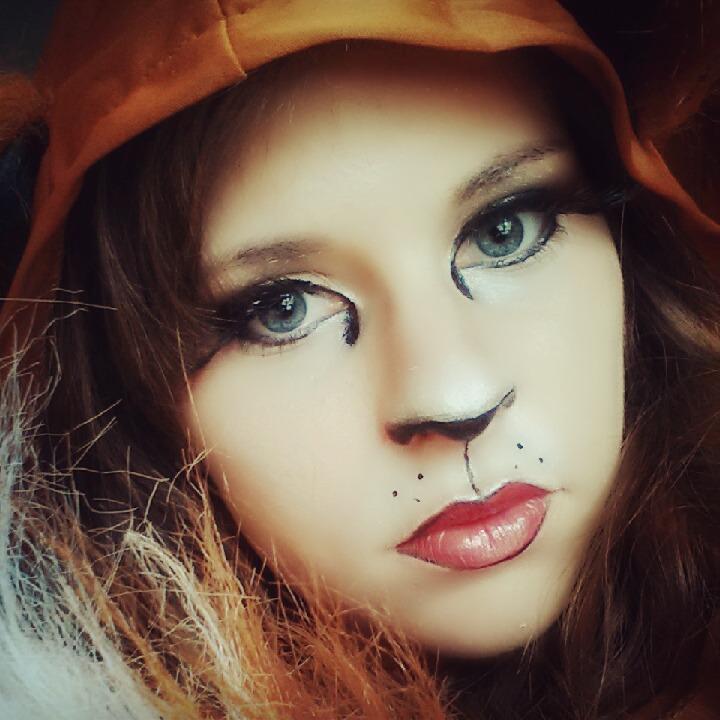 Fox Makeup Tutorial (Halloween) by TheDreamerWithin616 on - Tutorial Makeup Halloween