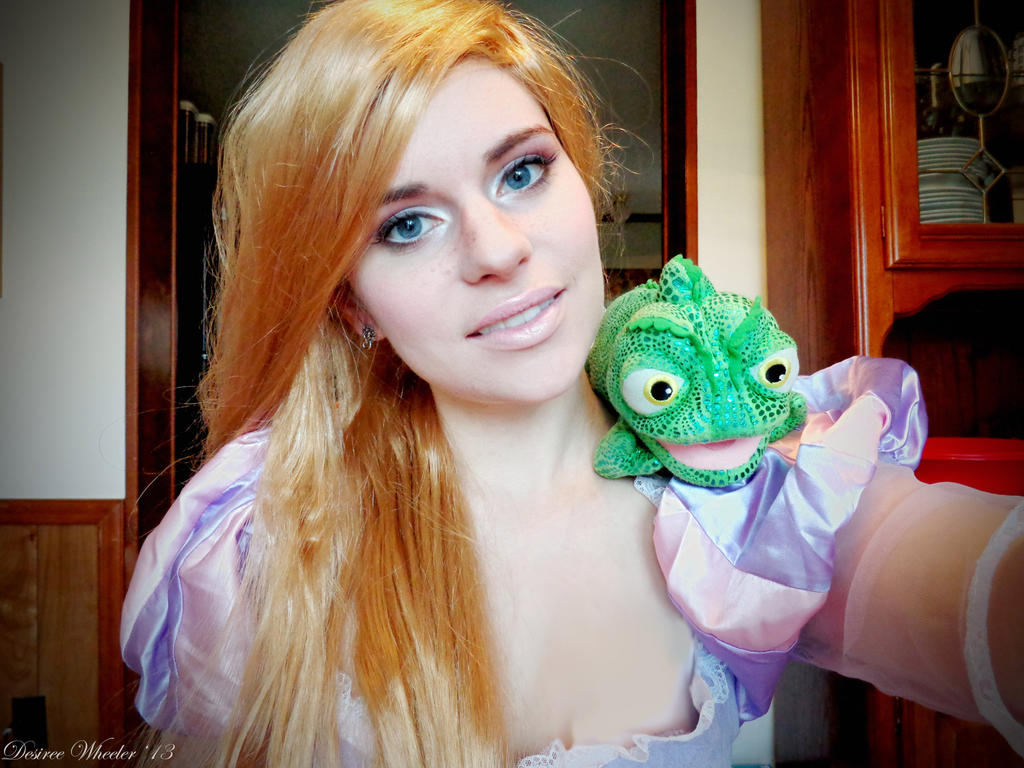 Rapunzel Makeup Tutorial By TheDreamerWithin616