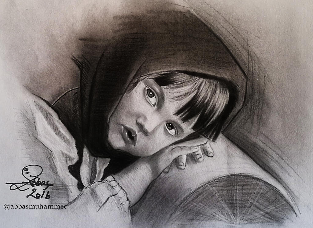 Sad girl by abbasmuhammed
