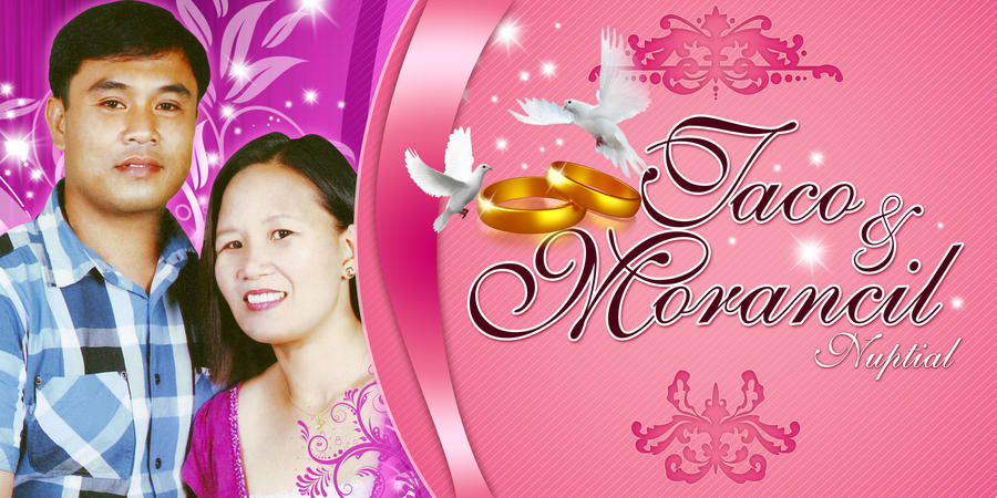 wedding banner by