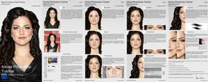 Digital Portrait Painting Tutorial Sheet