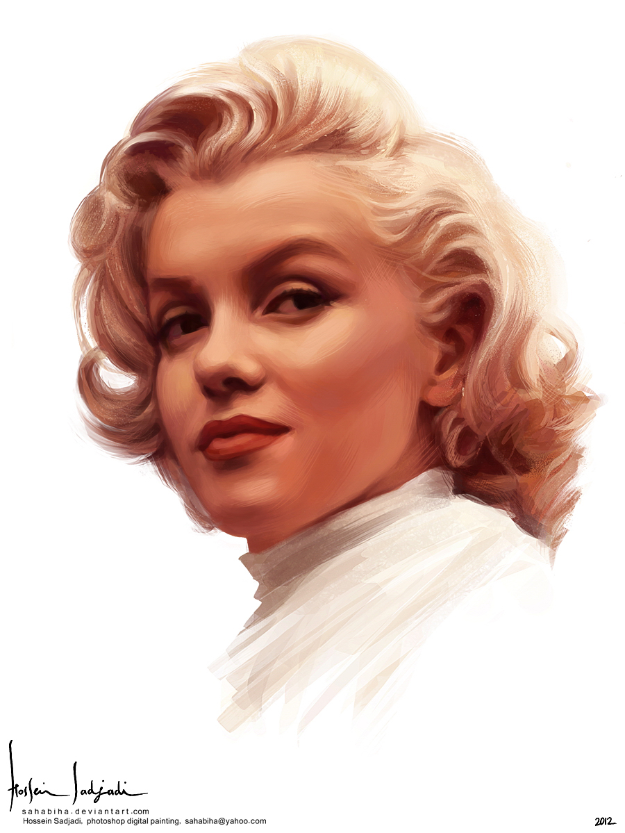 Marilyn Monroe by sahabiha