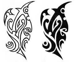 Polynesian tribal design by andyandypandy