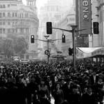 Shanghai crowds