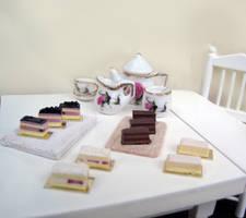 Cake slices by Nassae