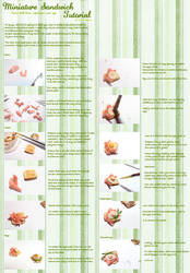 Exclusive Semi-sweeties Tut: Ham n asparagus toast by Nassae