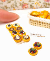 Tartlets closeup by Nassae