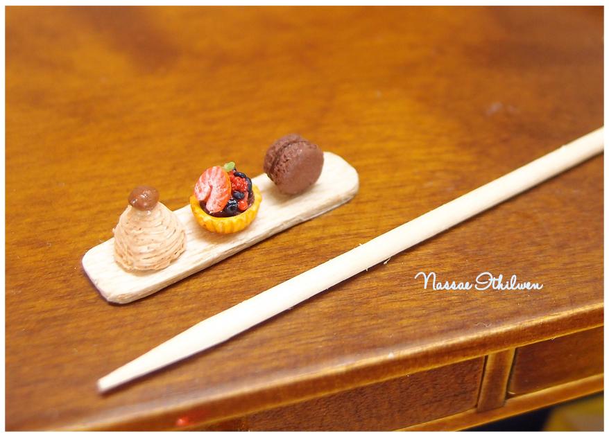Dessert set of three 2 by Nassae