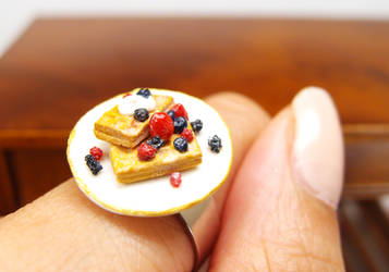 Berries waffle ring