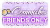 Point comm FRIENDS ONLY (Stamp) by Kazhmiran