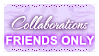Collab FRIENDS ONLY (Stamp) by Kazhmiran