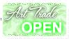 Art Trades OPEN (Stamp) by Kazhmiran