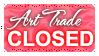 Art Trade CLOSED (Stamp) by Kazhmiran