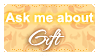 Ask Me About Gifts (Stamp) by Kazhmiran