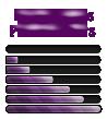 Purple Colors Progress Bars