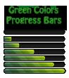 Green Colors Progress Bars