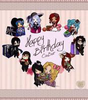 .....HAPPY BIRTHDAY MY LITTLE SISTER..... by Kazhmiran