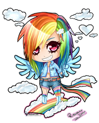 Rainbow Dash Chibi