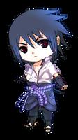 Uchiha Sasuke Chibi by Kazhmiran
