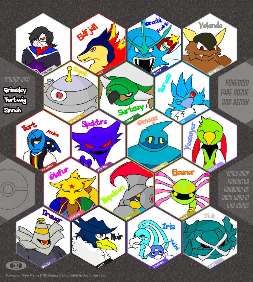pokemon type meme picture pokemon type meme image