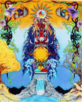 Earths Totem by BigBearsArtStudio