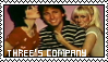 Three's Company stamp by thearcadeflorist