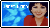 Janet Wood stamp by thearcadeflorist