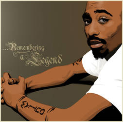 The Legendary 2pac by R2works