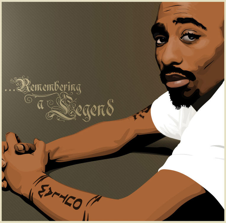The Legendary 2pac By R2works On DeviantArt