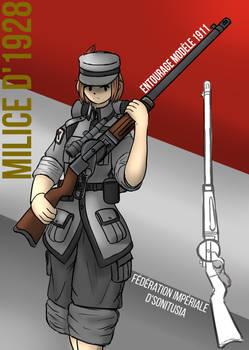 Entourage Turret-Rifle