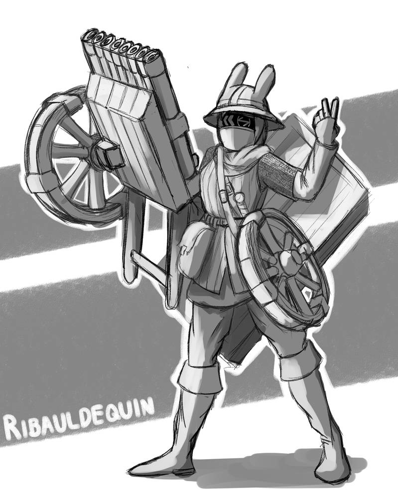 Ribauldequin 2.0 by kopakaseeker