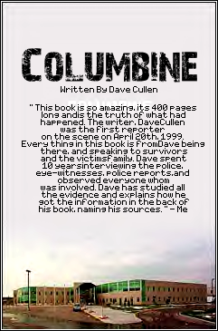 a report on david cullens book columbine and the importance of studying the event it is based on An increasingly popular nature-based religion she and her friend justin found a book on religion in the school we understand the importance of school.