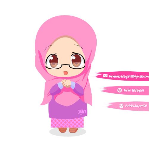 Muslimah Chibi Version by arinihidayati00 on DeviantArt