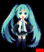 Miku by makaroshka-chan
